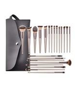 22pcs/set Champagne MakeupBrushes Kit Concealer Powder Blush Eyeshadow L... - $30.80