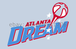 Atlanta Dream WNBA 3'x5' lt blue Flag Angel McCoughtry Shoni Schimmel US... - $25.00
