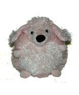 Squire Boone Village Round Pink Poodle Dog Puppy Plush Lovey Stuffed Ani... - $28.59