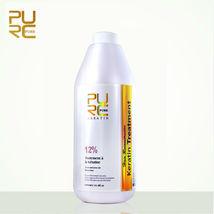 Brazilian Keratin 12% Formaldehyde Hair Straightening Treatment Repair 1000ml image 12