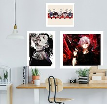 3D Tokyo Ghoul 49RAID Anime Combine Wall Sticker Wall Murals Wallpaper Amy - $34.59+