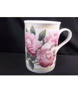 Marjolein Bastin for Avon china coffee mug Happiness Blossoms Roses 1997... - $8.56