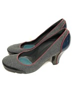 BCBG MAXAZRIA SHOES  Heel Gray Leather Size: 10/40 - $18.69
