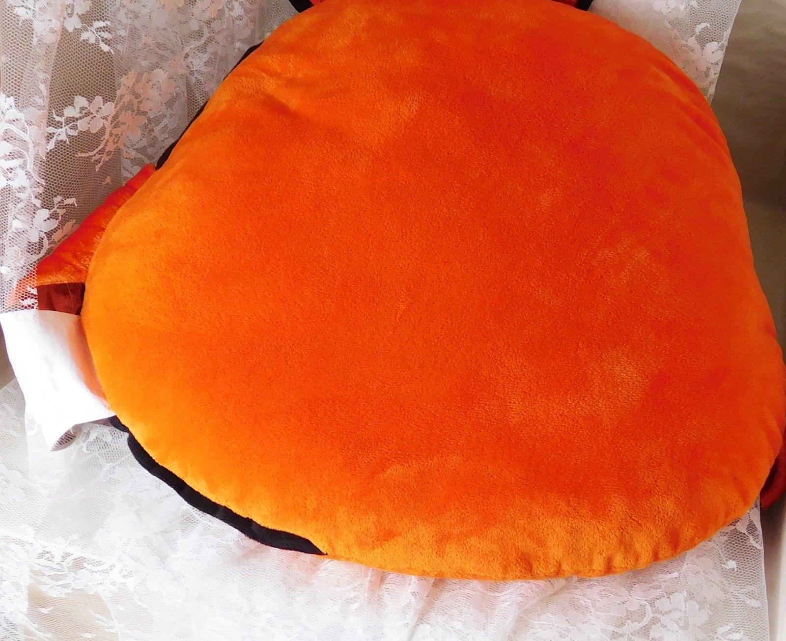 "Disney Store Plush Pillow - Extra Large Nemo from Finding Nemo - 20"" x 20"" x 2"""