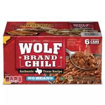 "Wolf Brand ""No Bean"" Chili (15oz., 6pk.) - $19.38"