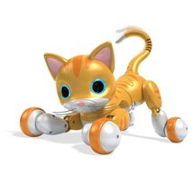 Zoomer Kitty Whiskers Spin Master Interactive Robot Cat  Robo Kitty - $235.00