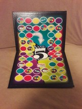 NAME 5 Game replacement pieces parts GAME BOARD ONLY - $7.69
