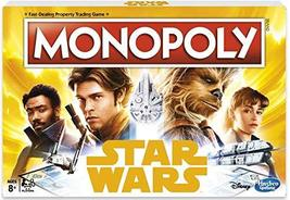 Monopoly Star Wars Enter a World of Smugglers and Adventure in The Twist on The  - $33.63