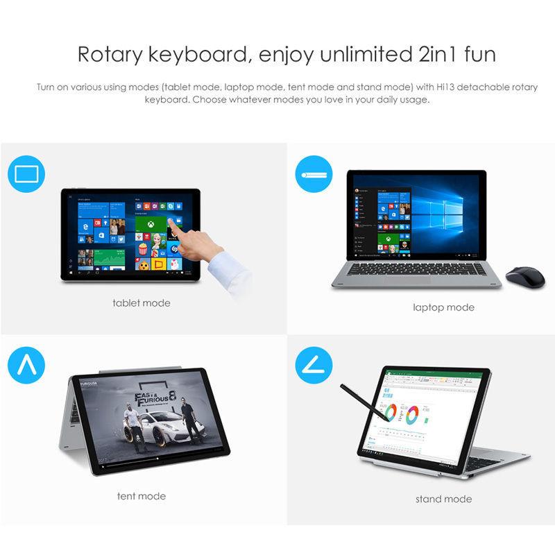 Windows Tablet PC Chuwi Hi13 - Intel Apollo and 50 similar items