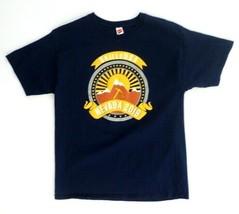 Hanes Men's T-Shirt L Large Blue Graphic Print: Skills USA Nevada 2019  - $15.43