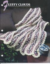 Fluffy Clouds Afghan Crochet Pattern~RARE - $24.99