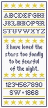 I Have Loved Stars saampler PDF cross stitch chart John Shirley new desi... - $5.00