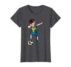 Brother Shirts - Dabbing Soccer Boy Sweden Jersey Shirt - Football Tee Gift Wowe - $19.95+