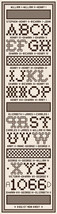 English Royals Sampler Bellpull PDF cross stitch chart John Shirley new designer - $124,62 MXN