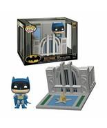 NEW SEALED Funko Pop Town DC Hall of Justice + Batman Pop Figure - $32.36