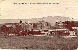 St Bonaventures College and Seminary Allegany New York vintage 1911 Post... - $5.00