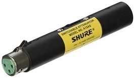 Shure A15AS Switchable Attenuator (15, 20, 25 dB), Passes Phantom Power - $53.07