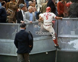 MLB 1970 Cincinnati Reds Johnny Bench in Action Color 8 X 10 Photo Picture - $6.99