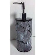 Brand New Lotion / Soap dispenser Anna's linens Black and Gray lotion di... - $16.82