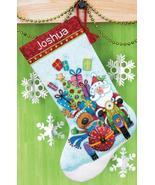 Santa's Sidecar Stocking Kit counted cross stit... - $22.50