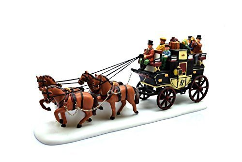"Primary image for Department 56 - Heritage Village Collection ""Holiday Coach"" - New"