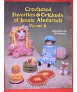 Vintage Crochet Crocheting Patterns Toys Dolls Christmas Clown Pillow Fl... - $9.95