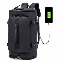 adorence Multi-Functional Backpack with Password Lock & USB Charging Port, Lugga