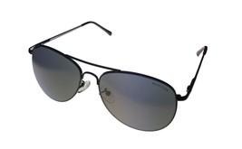 Kenneth Cole Reaction Shiny Gunmetal Mens Metal  Sunglass Aviator, KC1... - $17.99