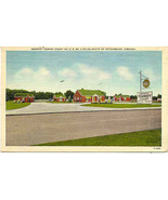 Brooks Tourist Court Route 301 Petersburg Virginia vintage 1948 Post Card - $5.00