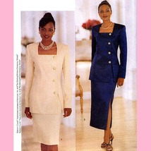134 EASY DESIGNER SKIRT & TOP DIAHANN CARROLL sz 8 to 12, SEWING PATTERN... - $3.95