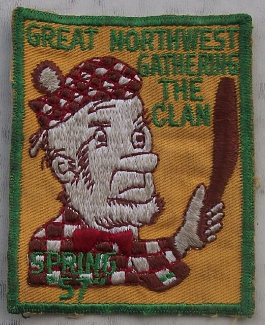 1957 Spring Great Northwest Gathering The Clan Boy Scouts Patch