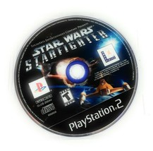 Star Wars: Starfighter (Sony PlayStation 2, 2002) PS2 - DISC ONLY NO Manual - $9.61