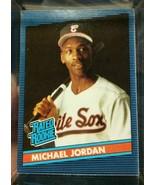 MICHAEL JORDAN RC 1994 DONRUSS RATED ROOKIE CARD MINT-MINT+?WHITE SOX OF RC - $19.79