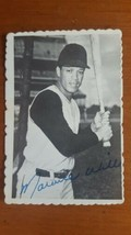 1969 topps deckle edge baseball card # 24 MAURY WILLS Nice Card! - $3.96