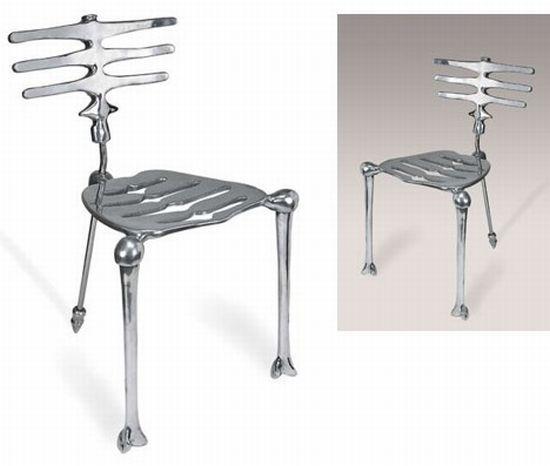 "Super Rare Early Production Michael Aram ""Skeleton"" Chair"