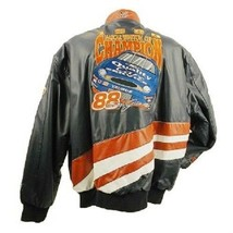 1999 CHAMPION NASCAR WINSTON CUP RACING LEATHER BOMBER JACKET CAMP-88 - $399.00