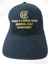 Tomas S Vander Woude Memorial Golf Fitted M/L Adult Baseball Ball Cap Hat - $9.64