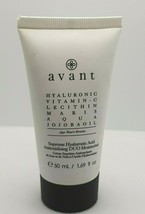 Avant Supreme Hyaluronic Acid Antioxidizing DUO Moisturizer 1.69oz Sealed - $33.66