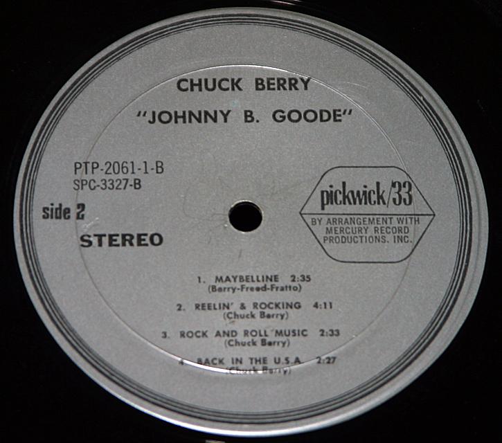 "Chuck Berry  ""Flashback""   LP"