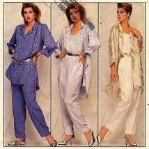 240 Womens Loose Fitting Shirt & Pants Sz 20 To 24 Family Circle Pattern Uncut - $5.95