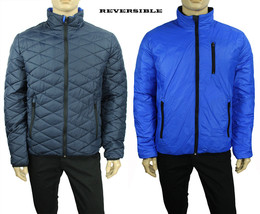 NEW MENS TOMMY HILFIGER REVERSIBLE QUILTED NAVY JACKET XL $249 - $99.99