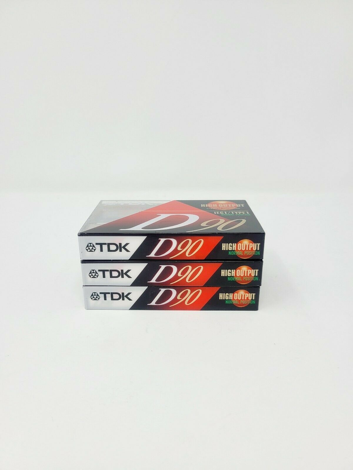Primary image for TDK D90 High Output sealed cassette audio tapes set of 3