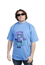Official Mens Blue Water Well Gone Mad T-Shirt Street Collection SR image 2