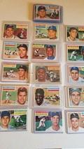 1956 topps all star baseball card lot(21) - $474.21