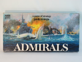 Admirals Board Game 1972 Parker Brothers 100% Complete Excellent Plus Condition - $21.42