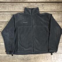 Columbia Fleece Jacket Full Zip Gray Vertex 365 Men's Size XL - $19.80