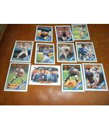 1988 NY Mets 11 Topps Baseball cards Keith, Sid, Mookie, Wally, Leaders,... - $5.79