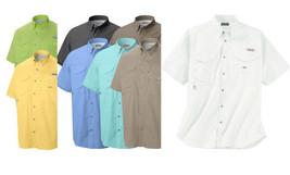 New Columbia Men Bonehead Short Sleeve Shirts, S-M-L-XL-XXL - $30.90+