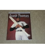 Frank Thomas Chicago White Sox  80 pg Beckett Tribute 1994 color photos,... - $5.99