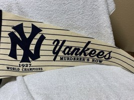 Vintage Mitchell & Ness NY Yankees 1927 World Champions Pennant Great Co... - $85.13